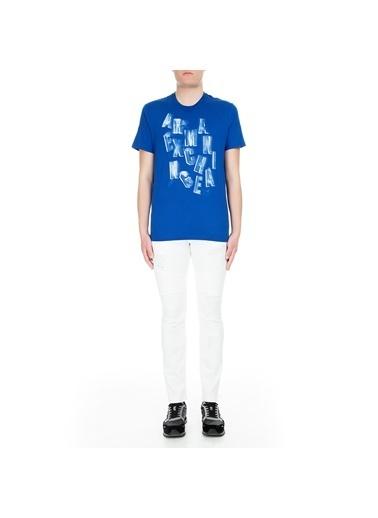 Armani Exchange Pantolon Beyaz